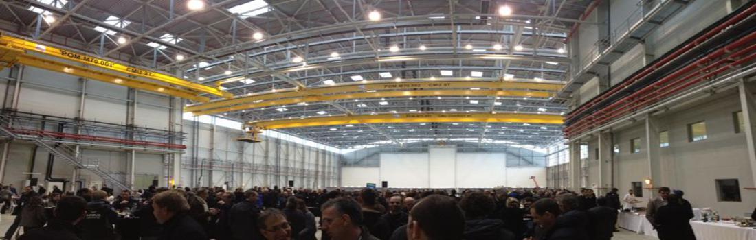 Hall Airbus - Grandes Portes Sectionnelles - Portes Rapides - Lot Coupe Feu